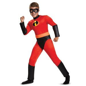 (B💲18)Boys Incredibles 2 Classic Dash Costume